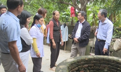 Bộ Y tế giám sát hỗ trợ phòng, chống dịch bệnh sau mưa lũ tại Hà Tĩnh