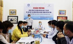 Bệnh viện tuyến huyện tại Hà Tĩnh triển khai thí điểm phòng khám từ xa