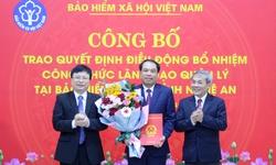 Bảo hiểm xã hội tỉnh Nghệ An có tân Giám đốc