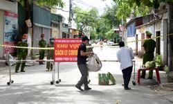 Nhịp sống người dân trong vùng phong tỏa ở Nghệ An