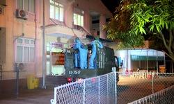 Quân khu 4 phun khử khuẩn nơi điều trị bệnh nhân COVID-19 tại Nghệ An