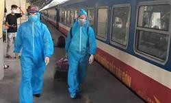 Hà Tĩnh phát hiện 01 công dân trở về từ TP. Hồ Chí Minh trên chuyến tàu SE14  mắc COVID-19