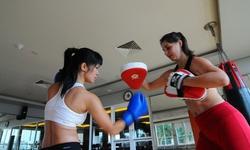 Ðạp xe và boxing khiến Hoàng My luôn tự tin, vui vẻ