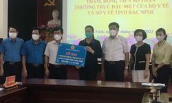 Công đoàn Y tế Việt Nam chia sẻ với ngành y tế và nhân dân tỉnh Bắc Ninh
