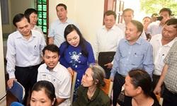 Bộ trưởng Bộ Y tế thăm và làm việc tại Nghệ An