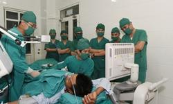 Điều trị khối u gan bằng vi sóng