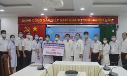 Bệnh viện Trung ương Cần Thơ quyên góp hơn 200 triệu đồng vì miền Trung