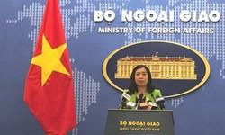 Yêu cầu Trung Quốc huỷ bỏ tập trận ở khu vực quần đảo Hoàng Sa