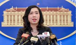 Người phát ngôn Bộ Ngoại giao tiếp tục yêu cầu tàu Trung Quốc chấm dứt xâm phạm vùng biển Việt Nam