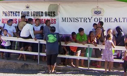 Số người tử vong vì bệnh sởi ở Samoa lên tới  53 người