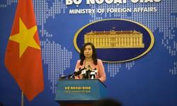 Việt Nam hoan nghênh lập trường của các nước về Biển Đông phù hợp với luật pháp quốc tế