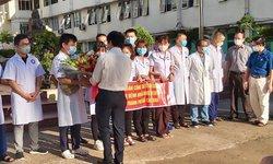 29 nhân viên y tế Quảng Bình tình nguyện vào TP.HCM chống dịch