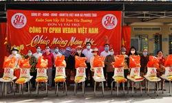 Vedan Việt Nam trao tặng 1000 phần quà Tết cho người dân tỉnh Đồng Nai