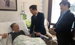 Trưởng Ban Tuyên giáo T.Ư thăm chúc mừng GS.TSKH Lê Đăng Hà