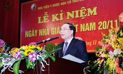 Học viện Y Dược học cổ truyền Việt Nam kỷ niệm ngày nhà giáo Việt Nam