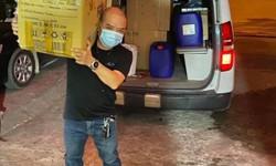 2 tài xế lái xe cứu thương từ Nghệ An ra Bắc Giang hỗ trợ phòng chống COVID-19
