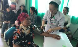 Bộ trưởng kiểm tra công tác y tế cơ sở tại Lâm Ðồng