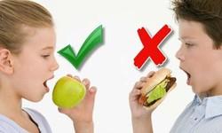 Giúp mẹ lên thực đơn giảm béo phì cho trẻ