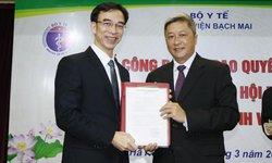 Bộ Y tế bổ nhiệm GS.TS Nguyễn Quang Tuấn giữ chức Giám đốc BV Bạch Mai