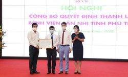 Bệnh viện Sản Nhi Phú Thọ theo mô hình khách sạn hiện đại được thành lập