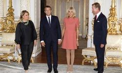 Đệ nhất phu nhân tổng thống Pháp Macron diện trang phục chuẩn