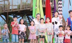 Trà thanh nhiệt Dr Thanh đem các trò chơi dân gian đến với các em thiếu nhi