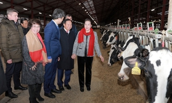 Chủ tịch quốc hội Nguyễn Thị Kim Ngân đến thăm trang trại TH tại Moscow, Liên Bang Nga