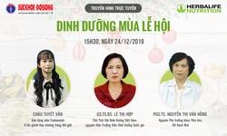 Truyền hình trực tuyến: Dinh dưỡng mùa lễ hội