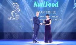 """Nutifood nhận """"hat-trick"""" giải thưởng về doanh nghiệp & lãnh đạo xuất sắc châu Á"""