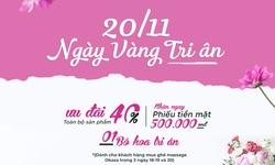Ghế massage Okasa - Tri ân nhân dịp 20/11