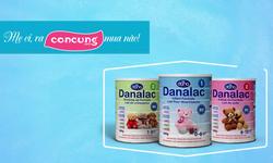 Thương hiệu Danalac sắp có mặt ở hơn 500 cửa hàng của hệ thống Con Cưng