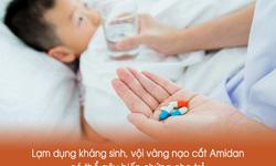 Sai lầm thường gặp khi xử lý viêm amidan cho bé