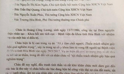 Bác sĩ  Hoàng Công Lương gửi tâm thư đến Tổng Bí thư Nguyễn Phú Trọng