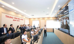 Bệnh viện K đưa vào sử dụng trung tâm điều hành thông minh để quản trị bệnh viện