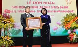 Phấn đấu nâng tầm BV Việt Đức thành bệnh viện ngoại khoa hàng đầu Châu Á