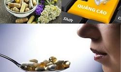 Thực phẩm bảo vệ sức khoẻ Phúc Nhãn Khang và Slimvita Plus quảng cáo như thuốc chữa bệnh