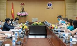 Bộ Y tế đề nghị UNICEF thúc đẩy COVAX sớm tiếp tục cung ứng vắc xin phòng COVID-19 cho Việt Nam