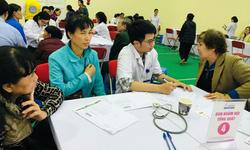 Tết ấm Tình Người: Gần 5.000 người Hà Nội được khám bệnh miễn phí