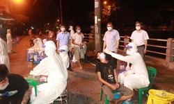 Trường Đại học Kỹ thuật Y tế Hải Dương lại thần tốc xuyên đêm lấy mẫu xét nghiệm COVID-19