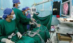 Phẫu thuật tim bẩm sinh kết hợp tạo hình khí quản cho bệnh nhi 11 tháng tuổi