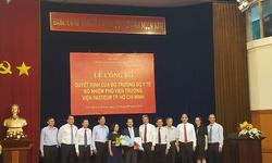 Bổ nhiệm Phó Viện trưởng Viện Pasteur Thành phố Hồ Chí Minh