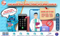 32 bác sĩ tham gia tư vấn chăm sóc sức khỏe qua kênh 1022