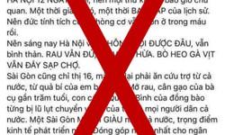 """Cơ quan chức năng mời chủ tài khoản facebook """"Hằng Nguyễn"""" lên làm việc"""
