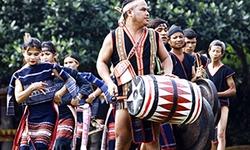 Đặc sắc lễ mừng lúa mới của dân tộc Ba Na