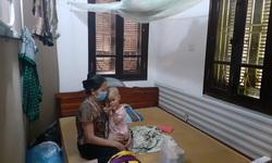 Xóm trọ Bệnh viện Nhi Trung ương mùa COVID-19
