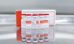 Cận cảnh lô vaccine Sputnik V đầu tiên được sản xuất thành công tại Việt Nam
