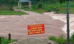 Rút hết 25 công nhân thủy điện ra khỏi khu vực có nguy cơ sạt lở