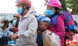 Nghệ An: Hỗ trợ, đón hàng trăm lao động đi xe máy về quê