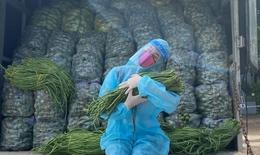 Xúc động hình ảnh Hoa hậu Khánh Vân ấp bó rau trên 'Chuyến xe thực phẩm 0 đồng'