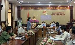 Thứ trưởng Bộ Y tế Trần Văn Thuấn ấn tượng với công tác chống dịch COVID-19 ở Bình Phước